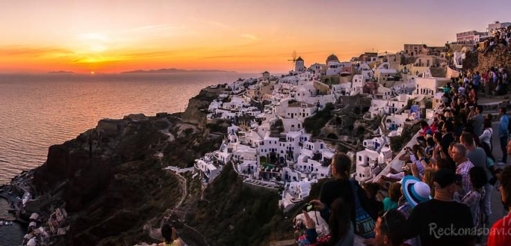 Oia Santorini Řecko
