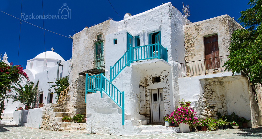 Kastro Folegandros Řecko