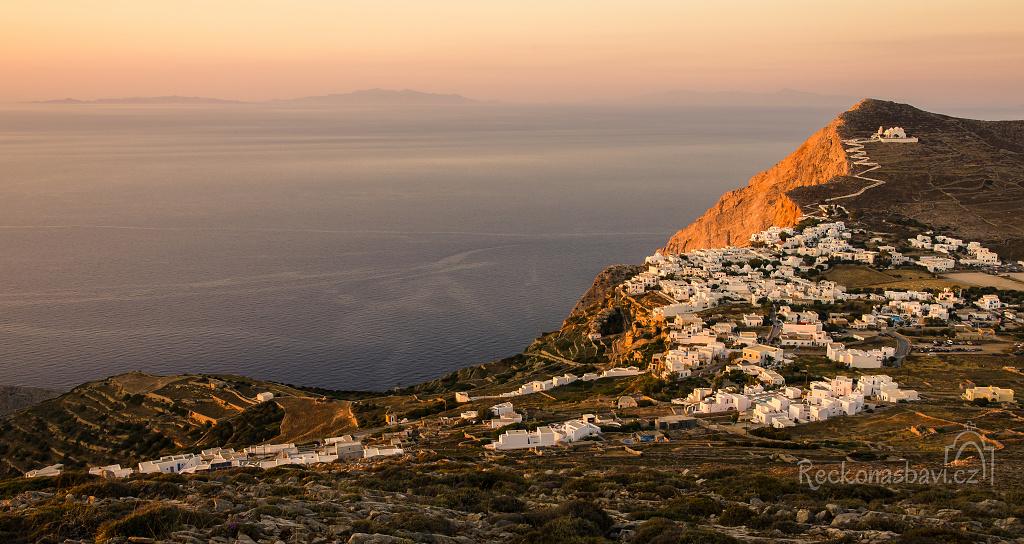 Chora Folegandros Řecko