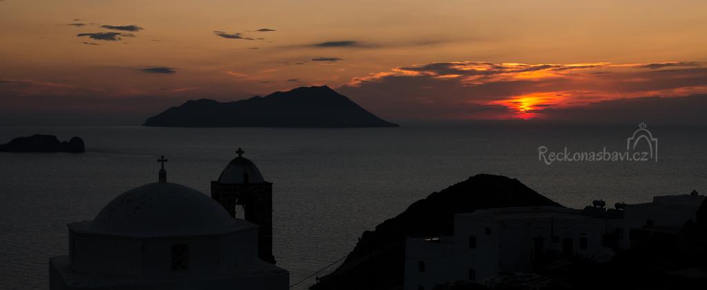 Plaka Milos Řecko