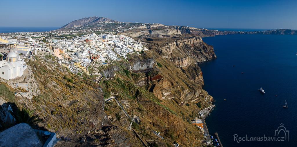 Fira Santorini Řecko