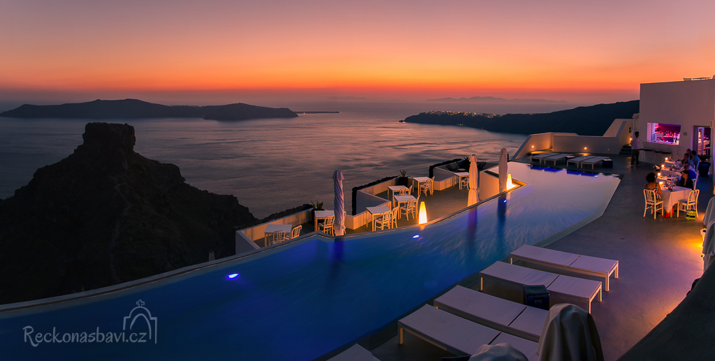Firostefani Santorini Řecko