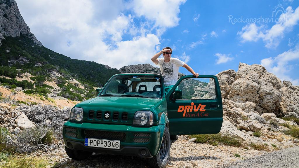 jeep Jimny Karpathos