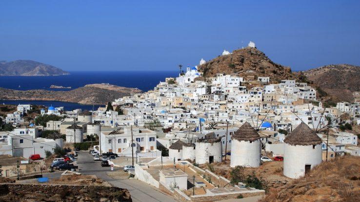 Ostrov Ios řecko