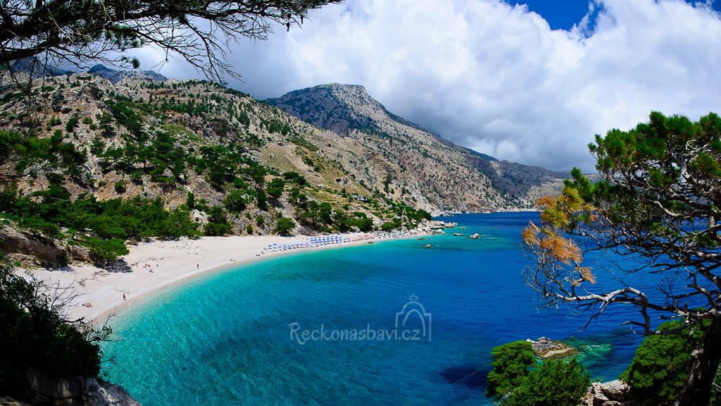pláž Apella Karpathos