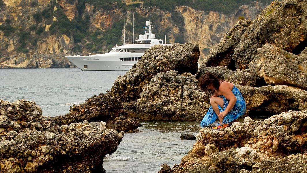 Korfu, Klimatia