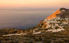 folegandros chora greece