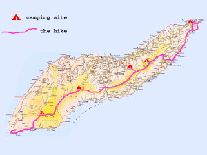 Atheras ridge Ikaria Greece