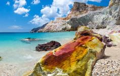 Kastanas beach Milos