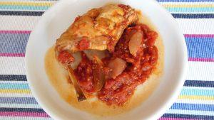 králík na rajčatech řecký recept