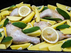 kuře na citronu řecký recept