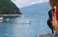 Prespa prespes lake Greece