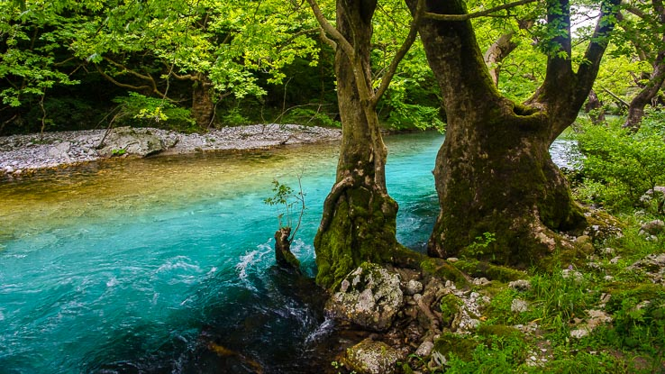 Voidomatis river Zagori Greece