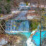 Pozar Loutraki; termály Řecko