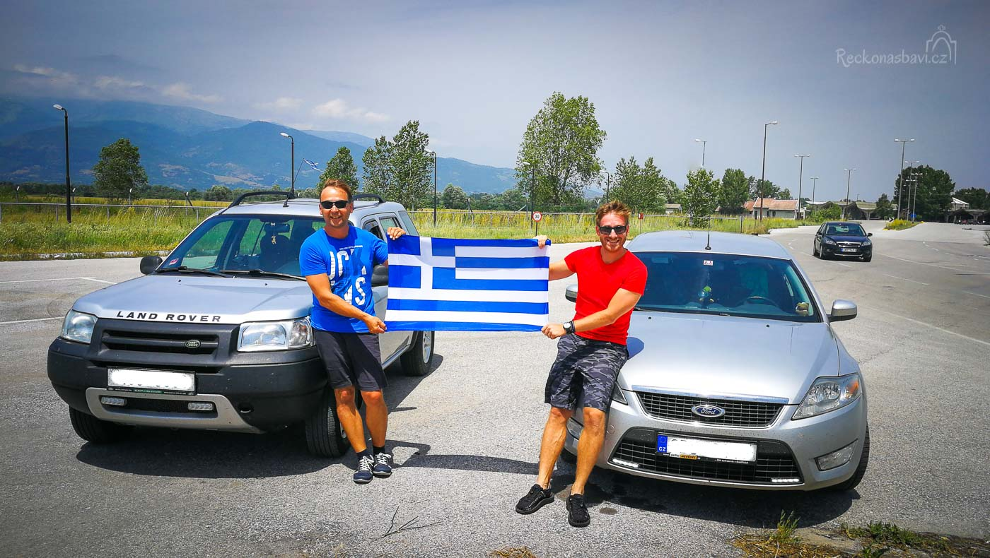 řecko autem; do řecka autem; autem do řecka