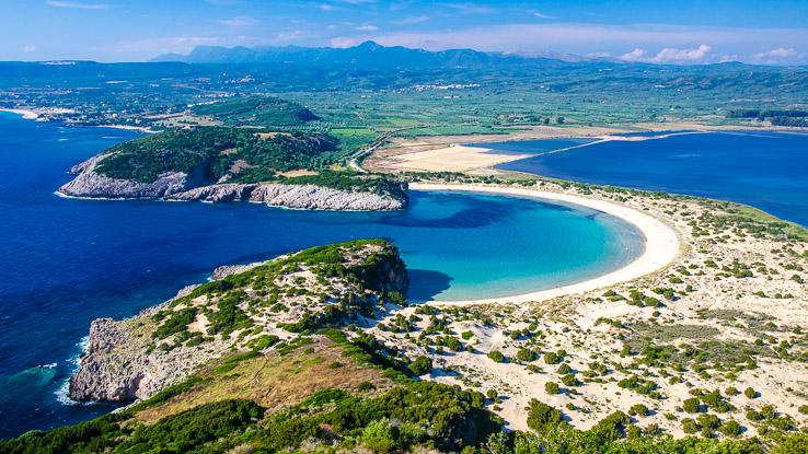 Voidokilia beach Peloponnese