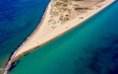 Epanomi beach Thessaloniki Soluň