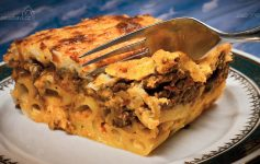 PASTITSIO, lasagne, pastítsio, παστίτσιο