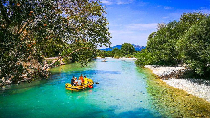Acheron, Acherontas, river, řeka