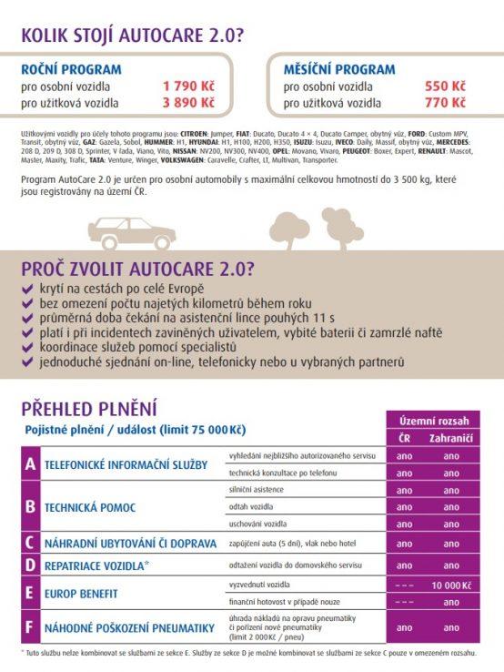 autocare 2.0 europ assistence