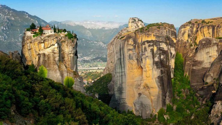 Kastraki - Meteora, pěší výlet pod kláštery
