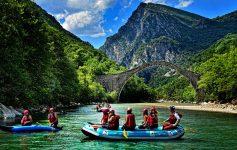 Rafting; Arachthos; Tzoumerka