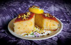 Ravani - krupicový desert s vůní mastichy