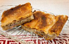 Kremidopita - tradiční řecký cibulový koláč