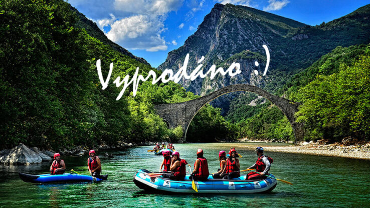 expedice Řecko nás baví na maximum vyprodáno