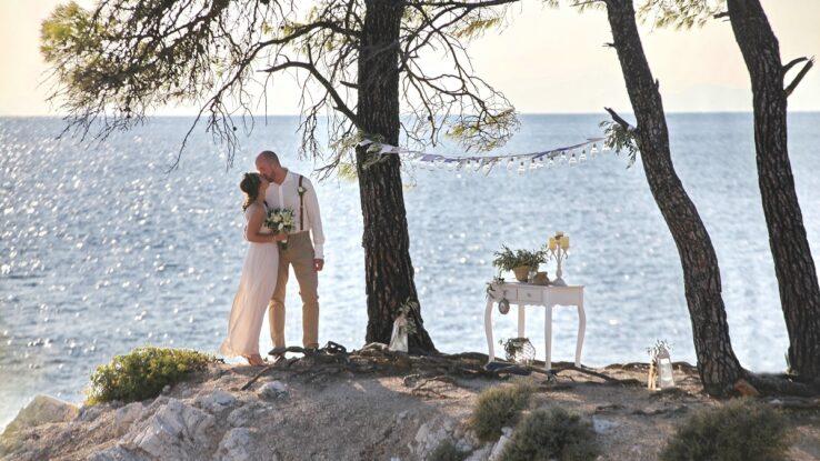 Svatba Skopelos; Mamma Mia; Svatba v Řecku