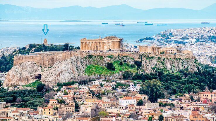 Filopappos; Athény