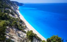 Egremni; Egremni beach; Lefkada