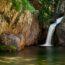 Fonias - divoká říčka s vodopády a vathres na ostrově Samothraki