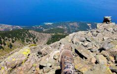 Fengari - výstup na nejvyšší vrchol ostrova Samothraki